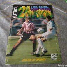 Álbum de fútbol completo: ALBUM ED. ESTE 1994 95 ( 2ª DIVISIÓN ) ( TODOS LOS.CROMOS.EDITADOS) CON RAUL Y LA BAJA DE JOSE MARI. Lote 183810547