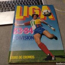 Álbum de fútbol completo: ALBUM ED. ESTE 1983 84 ( TODOS LOS.CROMOS.EDITADOS) DEL BARRIO, AZKARGORTA , ESCOBAR, DOS SANTOS ,. Lote 183823666