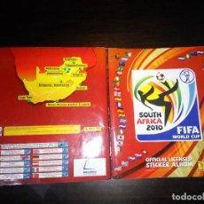 Álbum de fútbol completo: ALBUM MUNDIAL 2010 COMPLETO + ESPECIAL. Lote 183827318