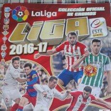 Álbum de fútbol completo: LIGA ESTE 2016-2017 (16-17). ALBUM +COLECCION COMPLETA SIN PEGAR + MERCADO DE INVIERNO Y HOJAS.. Lote 183829730
