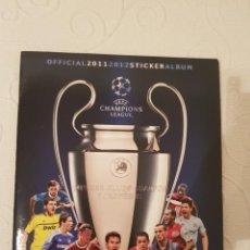 Álbum de fútbol completo: UEFA CHAMPIONS LEAGUE, 2011-2012, ALBUM CON TODOS LOS CROMOS, PANINI, EN PERFECTO ESTADO!!. Lote 183845993
