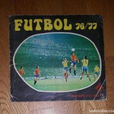 Álbum de fútbol completo: ALBUM FUTBOL CAMPEONATO LIGA 76/77 EDICIONES VULCANO S. A. COMPLETO . Lote 183982365