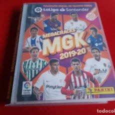 Álbum de fútbol completo: COLECCION COMPLETA MEGACRACKS LIGA 2019 2020 19 20 PANINI CON MESSI.... Lote 184274830