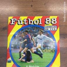 Álbum de fútbol completo: ÁLBUM DE CROMOS FÚTBOL 88- PANINI - COMPLETO. Lote 184565147