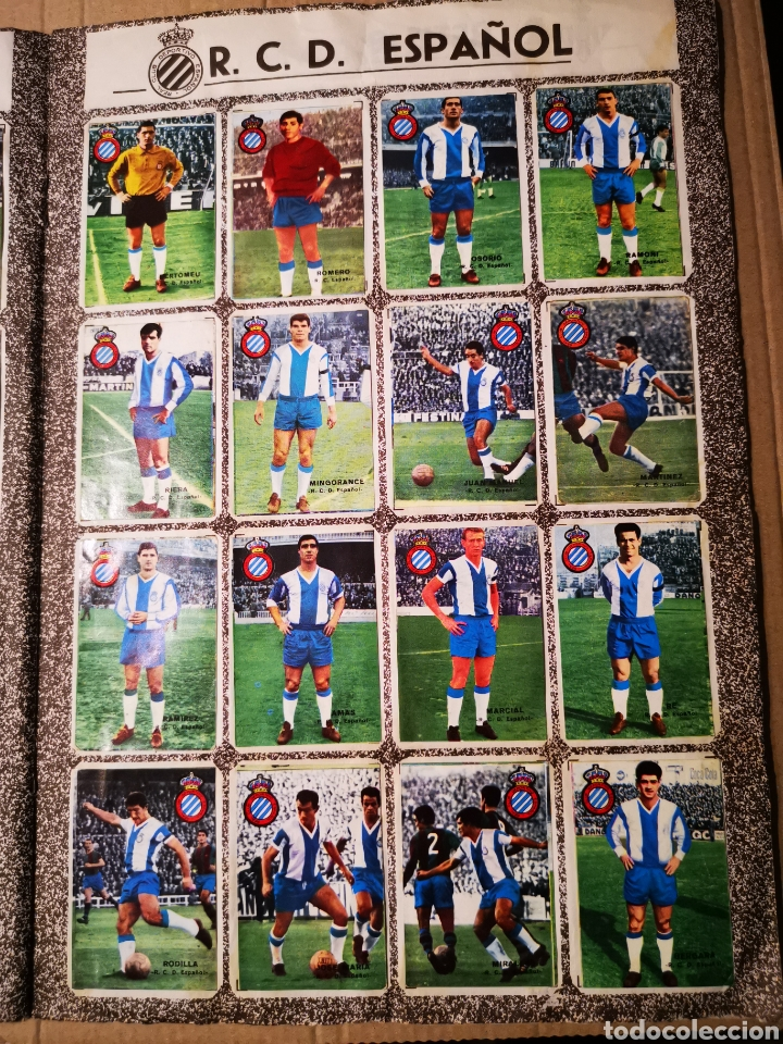 Álbum de fútbol completo: Álbum completo de fher 1967/68 con los 16 escudos. - Foto 11 - 184650677