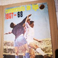 Álbum de fútbol completo: ÁLBUM COMPLETO DE FHER 1967/68 CON LOS 16 ESCUDOS.. Lote 184650677