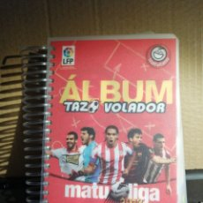 Álbum de fútbol completo: ALBUM DE FUTBOL MATULIGA 2013 COMPLETO TAZO VOLADOR MATUTANO CHEETOS. Lote 184750220