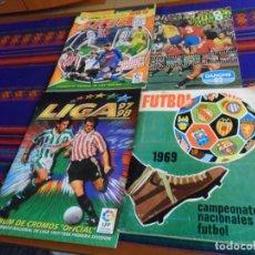 Álbum de fútbol completo: FÚTBOL 1969 RUIZ ROMERO COMPLETO CON DOBLES, ESTE 97 98 INCOMPLETO, EN ACCIÓN COMPLETO. REGALO 18 19. Lote 184754185