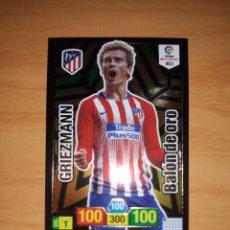 Álbum de fútbol completo: GRIEZMAN BALON DE ORO ADRENALYN 18 19 Nº463. Lote 184818486