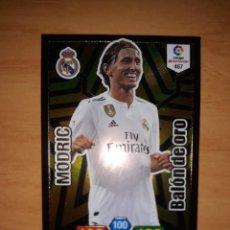 Álbum de fútbol completo: MODRIC BALÓN DE ORO ADRENALYN 18 19 Nº467. Lote 184818586