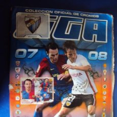 Álbum de fútbol completo: (F-191110)ALBUM CROMOS DE LIGA 2007-2008 - EDITORIAL ESTE - DOBLES. Lote 184914263