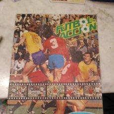 Álbum de fútbol completo: ALBUM FÚTBOL ACCIÓN . DANONE 82. COMPLETO. Lote 185740755