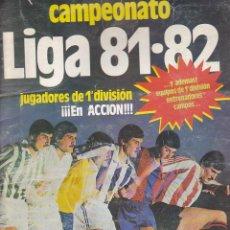 Álbum de fútbol completo: ALBUM FUTBOL COMPLETO CAMPEONATO DE LIGA 81-82 EDICIONES ESTE VER DESCRIPCION. Lote 185874106