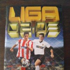 Álbum de fútbol completo: ÁLBUM DE CROMOS LIGA ESTE 2002 2003 02 03 MUY COMPLETO. Lote 185908545