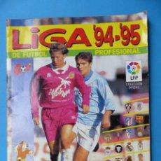 Álbum de fútbol completo: LIGA 1994-1995 94-95 - PANINI - COMPLETO - VER DESCRIPCION Y FOTOS. Lote 185963462