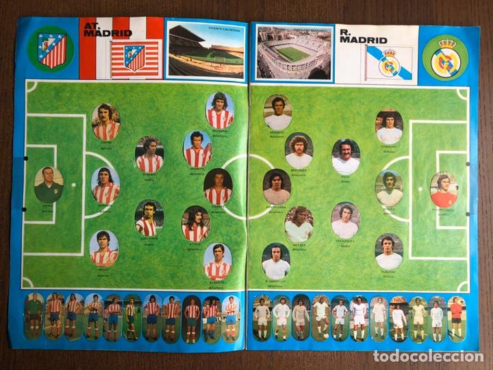 Álbum de fútbol completo: ALBUM FUTBOL LIGA MAGA 1975-1976 CROMOS TROQUELADOS ADHESIVOS 75-76 COMPLETO - Foto 2 - 186007197
