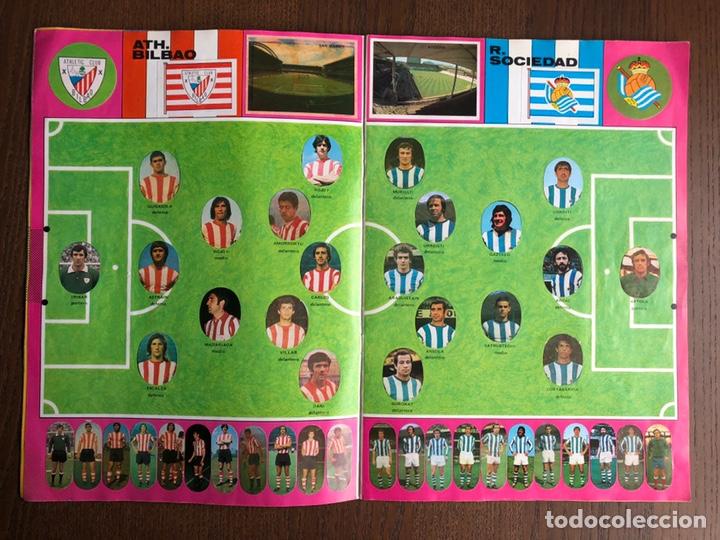 Álbum de fútbol completo: ALBUM FUTBOL LIGA MAGA 1975-1976 CROMOS TROQUELADOS ADHESIVOS 75-76 COMPLETO - Foto 4 - 186007197