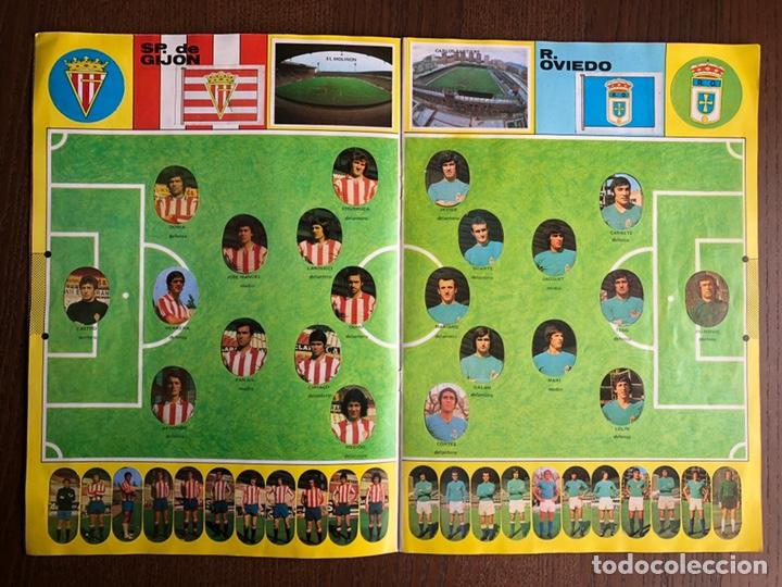 Álbum de fútbol completo: ALBUM FUTBOL LIGA MAGA 1975-1976 CROMOS TROQUELADOS ADHESIVOS 75-76 COMPLETO - Foto 5 - 186007197