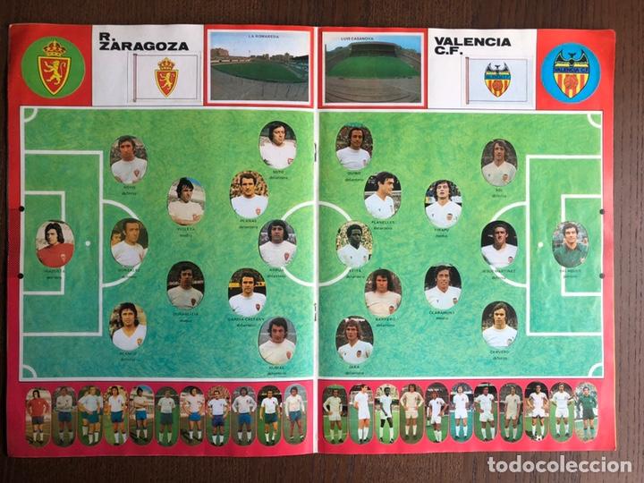 Álbum de fútbol completo: ALBUM FUTBOL LIGA MAGA 1975-1976 CROMOS TROQUELADOS ADHESIVOS 75-76 COMPLETO - Foto 6 - 186007197