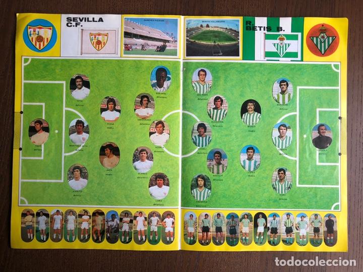 Álbum de fútbol completo: ALBUM FUTBOL LIGA MAGA 1975-1976 CROMOS TROQUELADOS ADHESIVOS 75-76 COMPLETO - Foto 7 - 186007197