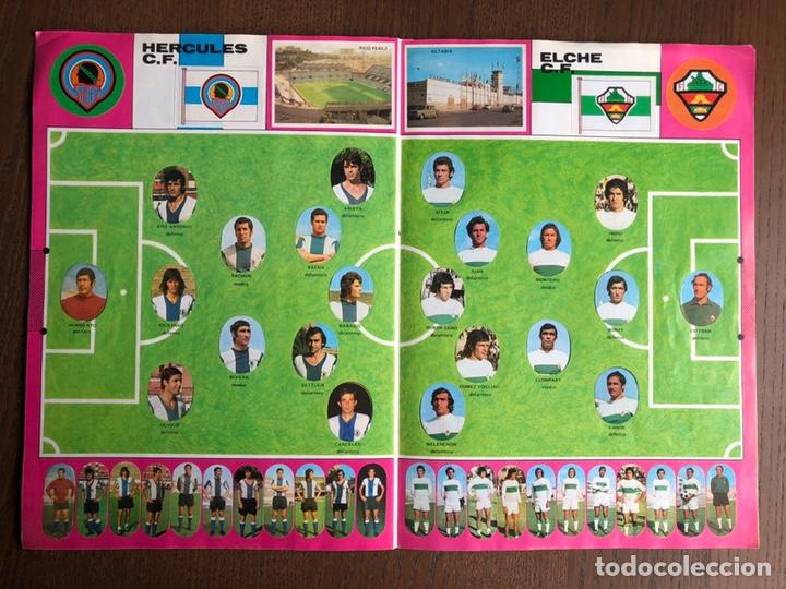 Álbum de fútbol completo: ALBUM FUTBOL LIGA MAGA 1975-1976 CROMOS TROQUELADOS ADHESIVOS 75-76 COMPLETO - Foto 8 - 186007197
