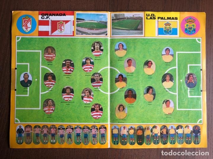 Álbum de fútbol completo: ALBUM FUTBOL LIGA MAGA 1975-1976 CROMOS TROQUELADOS ADHESIVOS 75-76 COMPLETO - Foto 9 - 186007197