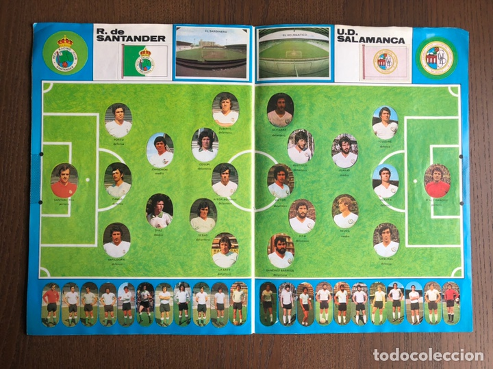Álbum de fútbol completo: ALBUM FUTBOL LIGA MAGA 1975-1976 CROMOS TROQUELADOS ADHESIVOS 75-76 COMPLETO - Foto 10 - 186007197