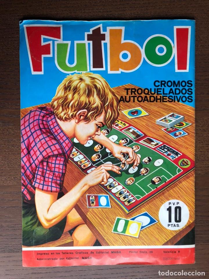 Álbum de fútbol completo: ALBUM FUTBOL LIGA MAGA 1975-1976 CROMOS TROQUELADOS ADHESIVOS 75-76 COMPLETO - Foto 11 - 186007197