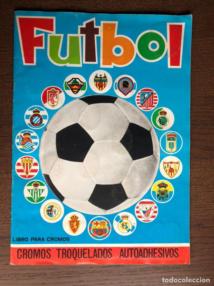 ALBUM FUTBOL LIGA MAGA 1975-1976 CROMOS TROQUELADOS ADHESIVOS 75-76 COMPLETO (Coleccionismo Deportivo - Álbumes y Cromos de Deportes - Álbumes de Fútbol Completos)