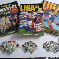 Álbum de fútbol completo: LOTE DE 3 ÁLBUMES DE LIGA ESTE ENTRE LOS AÑOS 1981 - 1982 - 1983 - 1984 / 81 - 82 - 83 - 84 . Lote 187426778
