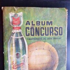Álbum de fútbol completo: ÁLBUM CROMOS CONCURSO FÚTBOL 100% COMPLETO ORIGINAL CAMPEONATO DE LIGA 1964-1965 LA CASERA 64-65. Lote 187444717