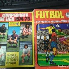 Álbum de fútbol completo: LOTE ALBUMES 74/75 ESTE COMPLETO RUIZ ROMERO - 69. Lote 187533253