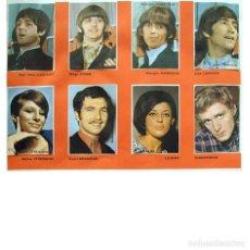 Álbum de fútbol completo: ALBUM 1967 FIGURAS 2 TV COMPLETO. CINE CANTANTES DEPORTE. BEATLES, ROLLING, PELE, EUSEBIO. Lote 187645488