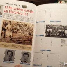 Álbum de fútbol completo: REAL MADRID CF. HISTORIA EN CROMOS . 3 ALBUMES COMPLETOS CROMOS PEGADOS. Lote 188430096