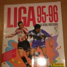 Caderneta de futebol completa: ÁLBUM COMPLETO LIGA 95 96 PANINI MUY BUEN ESTADO FÚTBOL 1995 1996 VER FOTOS. Lote 188672873