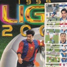 Álbum de fútbol completo: 10199 -ALBUM COMPLETO LIGA ESTE 1999 2000 99 00 CON 550 CROMOS. Lote 188678782