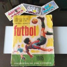 Álbum de fútbol completo: ÁLBUM CROMOS CAMPEONATOS NACIONALES DE FÚTBOL 1965 ED. RUIZ ROMERO TOKIO OLIMIPIADAS 1964. Lote 188723961