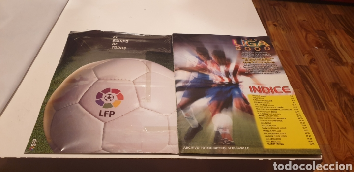 Álbum de fútbol completo: ALBUM COMPLETO DE LIGA ESTE 1999 2000 99 00 ESTA PLASTIFICADO VER FOTO - Foto 2 - 188833760