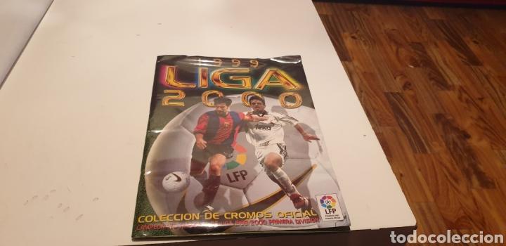 ALBUM COMPLETO DE LIGA ESTE 1999 2000 99 00 ESTA PLASTIFICADO VER FOTO (Coleccionismo Deportivo - Álbumes y Cromos de Deportes - Álbumes de Fútbol Completos)