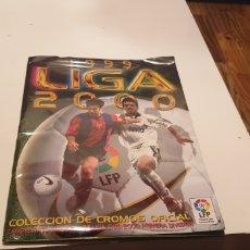 Álbum de fútbol completo: ALBUM COMPLETO DE LIGA ESTE 1999 2000 99 00 ESTA PLASTIFICADO VER FOTO. Lote 188833760