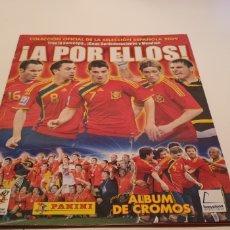 Álbum de fútbol completo: ALBUM COMPLETO APOR ELLOS DE PANINI. Lote 188840821