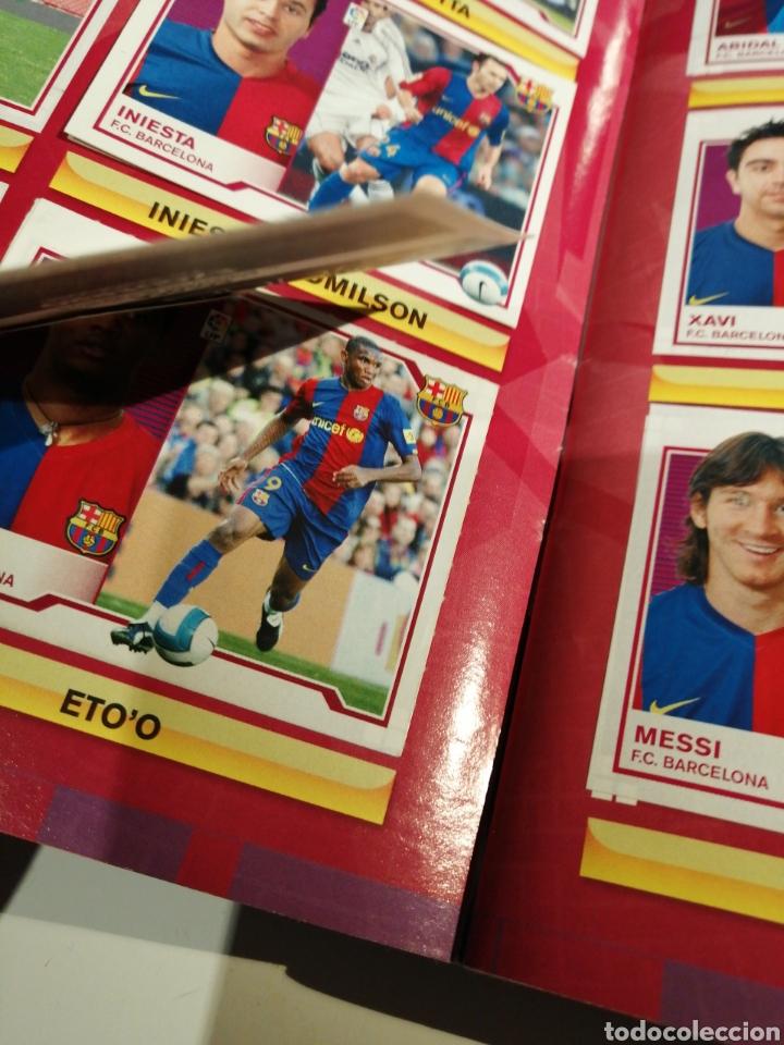 Álbum de fútbol completo: Album Futbol Liga Este 07 08 Completo con 559 cromos - Foto 2 - 189179062