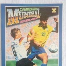 Álbum de fútbol completo: ALBUM ED. ESTADIO. - CAMPEONATO MUNDIAL DE FÚTBOL USA 94 - #. Lote 189225402