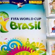 Caderneta de futebol completa: ALBUM PANINI. - BRAZIL 2014 - #. Lote 189252917