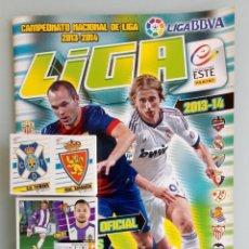 Álbum de fútbol completo: ALBUM PANINI. - LIGA 2013-14 - + SET OF 200 LOOSE DIF. STICKERS. - #. Lote 189295932