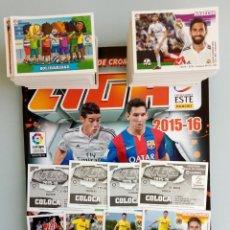 Álbum de fútbol completo: ALBUM PANINI. - LIGA 2015-16 - + SET OF 200 LOOSE DIF. STICKERS. - #. Lote 189296588