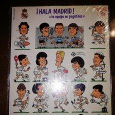 Álbum de fútbol completo: ¡HALA MADRID! TU EQUIPO EN PEGATINAS - NUEVO SIN ABRIR - 1987 REAL MADRID. Lote 189741965