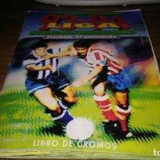 Álbum de fútbol completo: EDICIONES ESTE 1993 1994 93 94 - ALBUM COMPLETO (1 CROMO/CASILLA) CON 356 CROMOS. Lote 189833057
