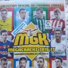 Caderneta de futebol completa: MEGACRAKS 2016 2017. Lote 189947740