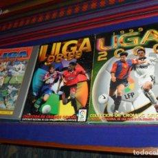 Álbum de fútbol completo: ESTE LIGA 1999 2000 99 00 MUY COMPLETO Y 98 99 1998 1999 INCOMPLETO. REGALO LAS FICHAS LIGA 97 98.. Lote 190048857